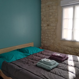 log Océan chambre avec lit double